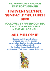Harvest Auction Poster