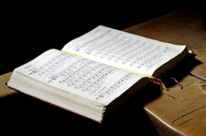 Image of a hymnal